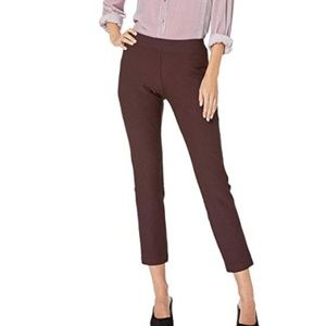 Eileen Fisher Washable Stretch Crepe Slim Pants